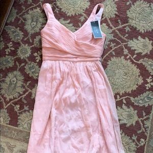 NWT blush pink JCrew bridesmaid dress
